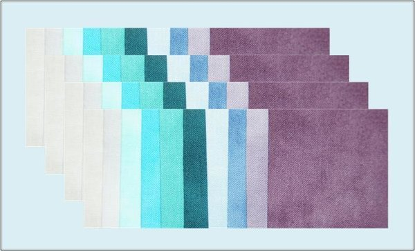 STOF Charm Pack Quilter's Shadow LAGOON